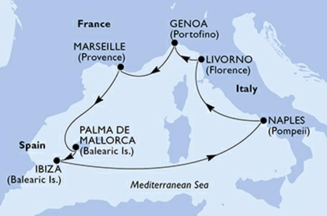 FAQ Côté Croisière :: Comment rejoindre le port de Gênes?
